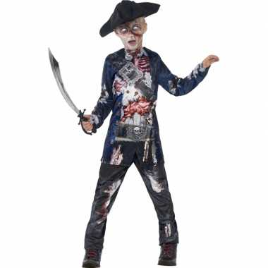 Bebloede zombie piraten outift kind 10075228