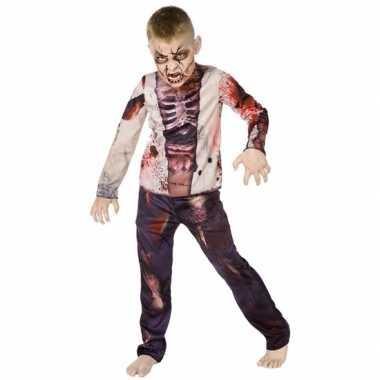 Carnaval zombie pak kind