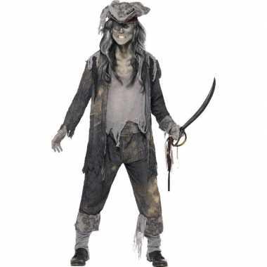 Zombie piraten pak heren