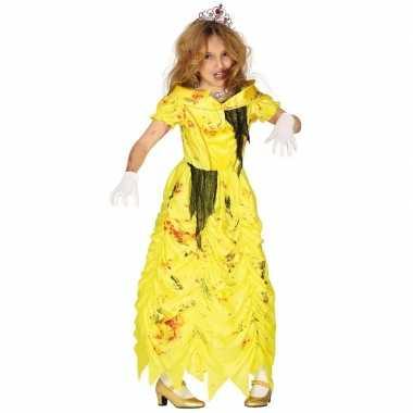 Zombie prinses belle verkleedpak kind prinsessen