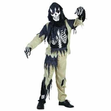 Zombie skeletten pak kind