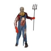 Bloederige zombie spook bruid verkleed pak dames